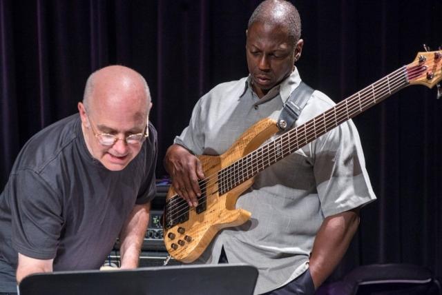 Allen Farnham and Terry Burrell