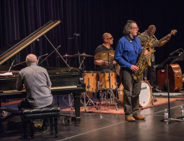 Jae Sinnett's Zero to 60 Quartet Performing at the 2017 Williamsburg Concerts