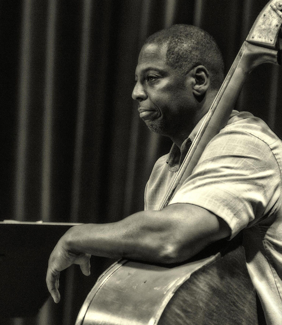 Terry Burrell - Bass