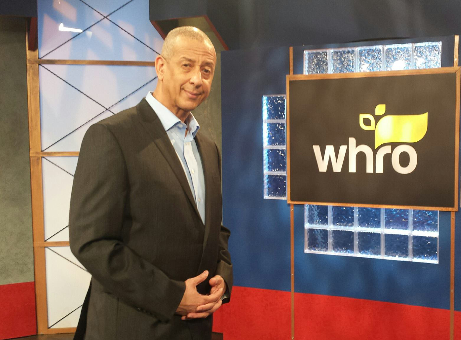 Jae Sinnett promoting a fundraiser for WHRO-TV 15